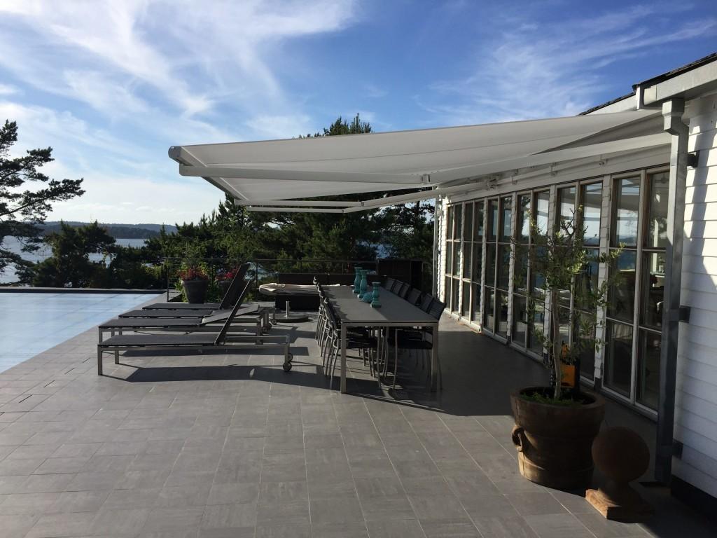 Terrassmarkiser i Stockholm - Markiser - Inex Design